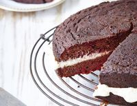 Gluten-Free Red Velvet Cake With Chocolate + Beets