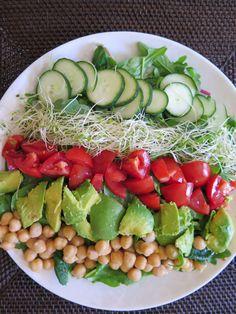DIY Berkeley Bowl Salad Recipe based on The Grove's