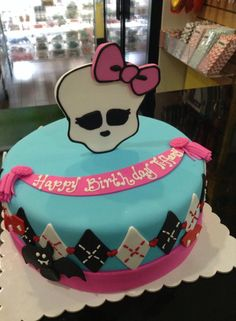 Monster High birthday cake, Sugarnomics Cake Studio Guam