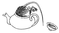 "Tove Jansson - Illustrations for ""Alice in Wonderland"" 29"