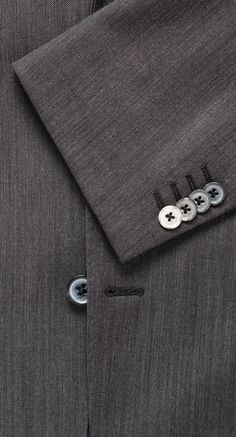 Clothes make the man, as the saying goes. Lighter grey suit. Shop here: http://www.vangils.eu/en/suits