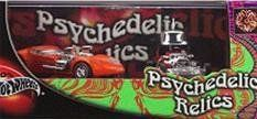 "2002 Hot Wheels 2 Car Box Set ""Psychedelic Relics"" with the Twin Mill and the Red Baron by Mattel. $9.45"