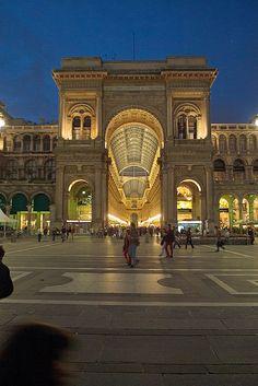Galerías Vittorio Emanuele II - Milan, Italy