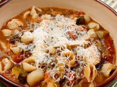 Yum... Id Pinch That!   Quick Minestrone Soup