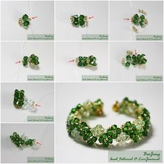How to Make Beautiful Four-Leaf Clover Beaded Bracelet