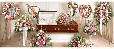 How to Make Casket Arrangement | Pink Sympathy Flower Arrangements