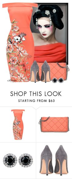 """Untitled #1142"" by almma ❤ liked on Polyvore featuring STELLA McCARTNEY and Gianvito Rossi"