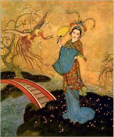 Princess Badoura-Edmund Dulac