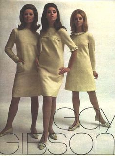 All sizes | Unknown model, Colleen Corby and Cay Sanderson.  17_Sept_1966_Gay%20Gibson | Flickr - Photo Sharing!