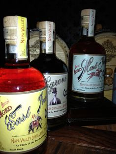 East India...Negroni...Mint Julep...Barrel Aged Cocktails. Come and get your bottle from Napa Valley Distillery at the OXBOW in Napa