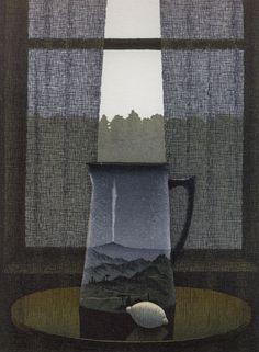 Esa Riippa(Finnish, b.1947)  Lähellä 2004  viivasyövytys/akvatinta etching / aquatint