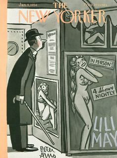 The New Yorker - Saturday, January 9, 1954 - Issue # 1508 - Vol. 29 - N° 47 - Cover by : Peter Arno