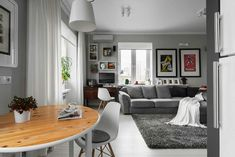 design interieur moderne couleur gris
