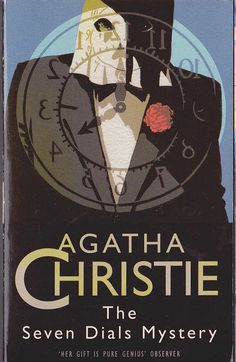 Agatha Christie THE SEVEN DIALS MYSTERY<BR>  . .HarperCollins rpt.N/D front cover image