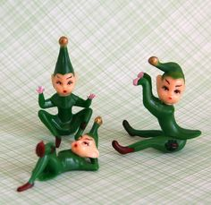 Green Pixie Cupcake Toppers 3 by sweetestelle on Etsy