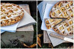 Křehký koláč s jablky (Apple pie) Apple Pie, Waffles, Bread, Breakfast, Food, Morning Coffee, Brot, Essen, Waffle