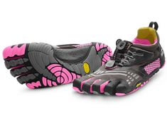 I've always thought these looked odd, but maybe I'll give them a try! Vibram Five Fingers