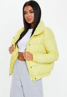 fefce28799e 25 Awesome yellow puffer jacket images
