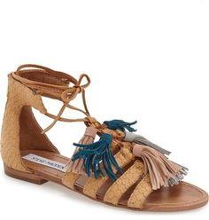 Steve Madden 'Monrowe' Tassel Sandal (Women)