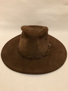 5b02c00cf9c3b Henschel Hat Co. Leather Hat Size Small  fashion  clothing  shoes   accessories