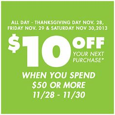 Spend $50 or More & Receive A Big Lots Coupon Worth at Big Lots.