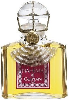 Nahema by Guerlain. The original pure perfume bottle. (1979)