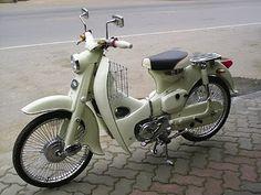 1965 Honda C 50.
