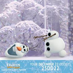 This is the final week of Holiday Bonus Points!  Today's code is 25DD22. Click the link or the image to visit Disney Movies Anywhere and enter the code! Happy Holidays! http://www.disneymovierewards.go.com/member/index.htm?cmp=DMR|PIN|25Days