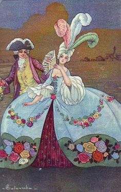 """The 1920's """"love affair with the 18th Century"""""""