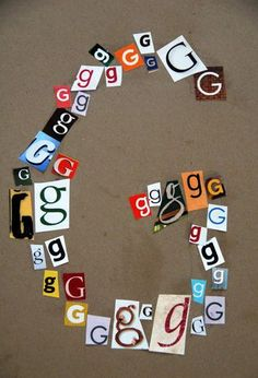 Make letter with letters - Excellent way to work on letter recognition and fine motor skills. Assign each child a letter to do individually, use as ABC border around room :) Preschool Letters, Kindergarten Literacy, Learning Letters, Early Literacy, Preschool Crafts, Alphabet Crafts, Letter A Crafts, Alphabet Letters, Alphabet Activities