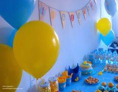 Rubber duck 1st birthday party. Fiesta del patito de goma.