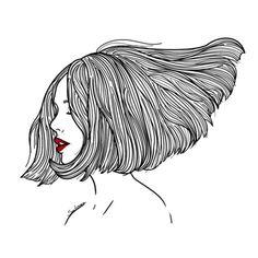 Mamma mia les illustrations de Sara Herranz. Qu'elles sont belles! Avec toujours des traits graphiques et esthétiques, cette jeune illlustratrice espagnole imagine des personnages à l'é…