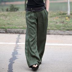 Wide leg trousers. [Love the look.]    [Amii品牌]