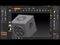 Zbrush 4R8: Live Booleans - YouTube