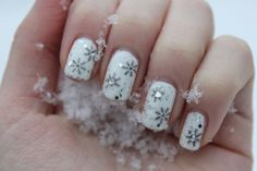 Nail art for the holidays!