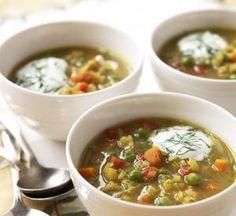 Recipe: Green Split Pea Soup | Fitbie
