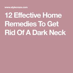 A glowing face and a dark, tanned neck – definitely not a good combo! Time to pamper your dark neck with these simple yet effective home remedies. Face Treatment, Skin Treatments, How To Treat Allergies, Hair Dye Allergy, Thinning Hair Remedies, Hip Pain Relief, Anti Itch Cream, Allergy Remedies, Beauty