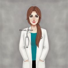 دكتورة ... 💊💉 • • @marwaali4  #marwa_draw #sketchbookpro #sketch #art #draw #drawing #mydrawing #paint #painting #illustration #digitalart #رسم #الرسم #رسمة #رسم_رقمي #مانجا #انمي_رقمي #دعم #ارسم #رووعه #كيوت #العراق #بغداد #فن #فنان #فنان_العربً Cute Cartoon Pictures, Girly Pictures, Friend Pictures, Cartoon Pics, Medical Drawings, Medical Art, Beautiful Girl Drawing, Cute Girl Drawing, Doctor Drawing