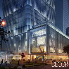 Localizado na China, edifício de 58 andares apresenta soluções eco-friendly em estrutura de concreto e aço.