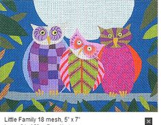 Zecca needlepoint canvas at The Enriched Stitch.