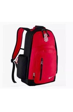 33701e9ab61a Nike Kyrie Irving Backpack Red Black New BA5133 657 Celtics Cavs  Nike  Backpack  Irving