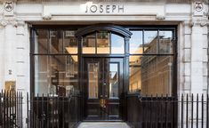 Joseph launched a new menswear flagship in London. #joseph #london #thelocationgroup   #shopopening #storeopening #elocations