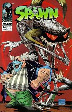 Spawn 14 - Spawn - Monster - Clown - Fat - Big Teeth - Todd McFarlane