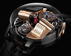 Jacob and Co's creativity never ceases to amaze me ... Opera by Jacob & Co. offers a music box on the wrist.