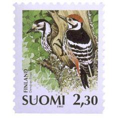 Postage Stamps, Finland, Birds, World, Animals, Seals, Animales, Animaux, Bird