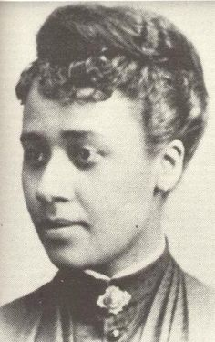 """Anna Julia Haywood Cooper - Already married and divorced when she received her Oberlin degree in 1884. An educator of distinction at segregated schools in Wash D.C. and author of """"A Voice from the Southe by a Blackk Woman of the South"""" (1892), she linked advancement of black people with equality of women."""