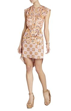 NWT BCBG Max Azria Ambrosia Kayli Combo Womens Dress Size M BCBGMAXAZRIA #BCBGMAXAZRIA #ShirtDress #Casual #bcbg #ebay #dress #deals