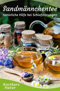 These wild herbs help you with sleep disorders- Diese Wildkräuter helfen dir bei Schlafstörungen If you can not fall asleep or have trouble sleeping through, some wild herbs can help you – try this wild herb tea blend. Healthy Eating Habits, Healthy Life, Herbal Remedies, Natural Remedies, Tea Blends, Herbal Tea, Tea Recipes, How To Fall Asleep, Natural Health