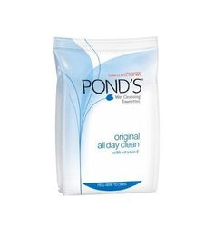 Ponds Orginal Clean Wet Cleansing Towelettes, 30-Count (Pack of 4)***Dermatologist tested,Hypoallergenic & suitable for sensitive skin,Safe for contact lens wearers,Alcohol & oil free,Proven-no leading cleanser is better at removing make-up and impurities,.