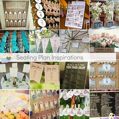 Seating Plan Inspirations http://www.weddingscene.co.za/inspirations.html